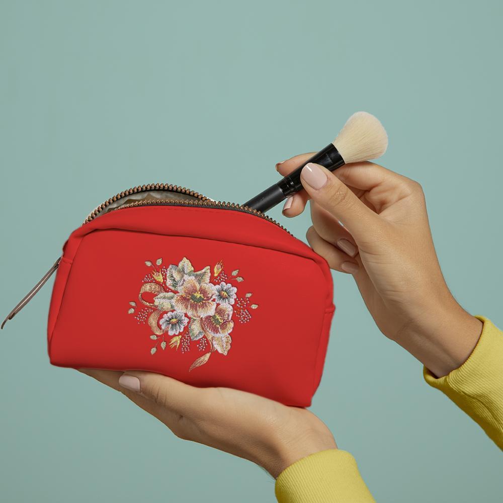 Cre8iveSkill's Embroidery Design Denise Flower Bag Mockup