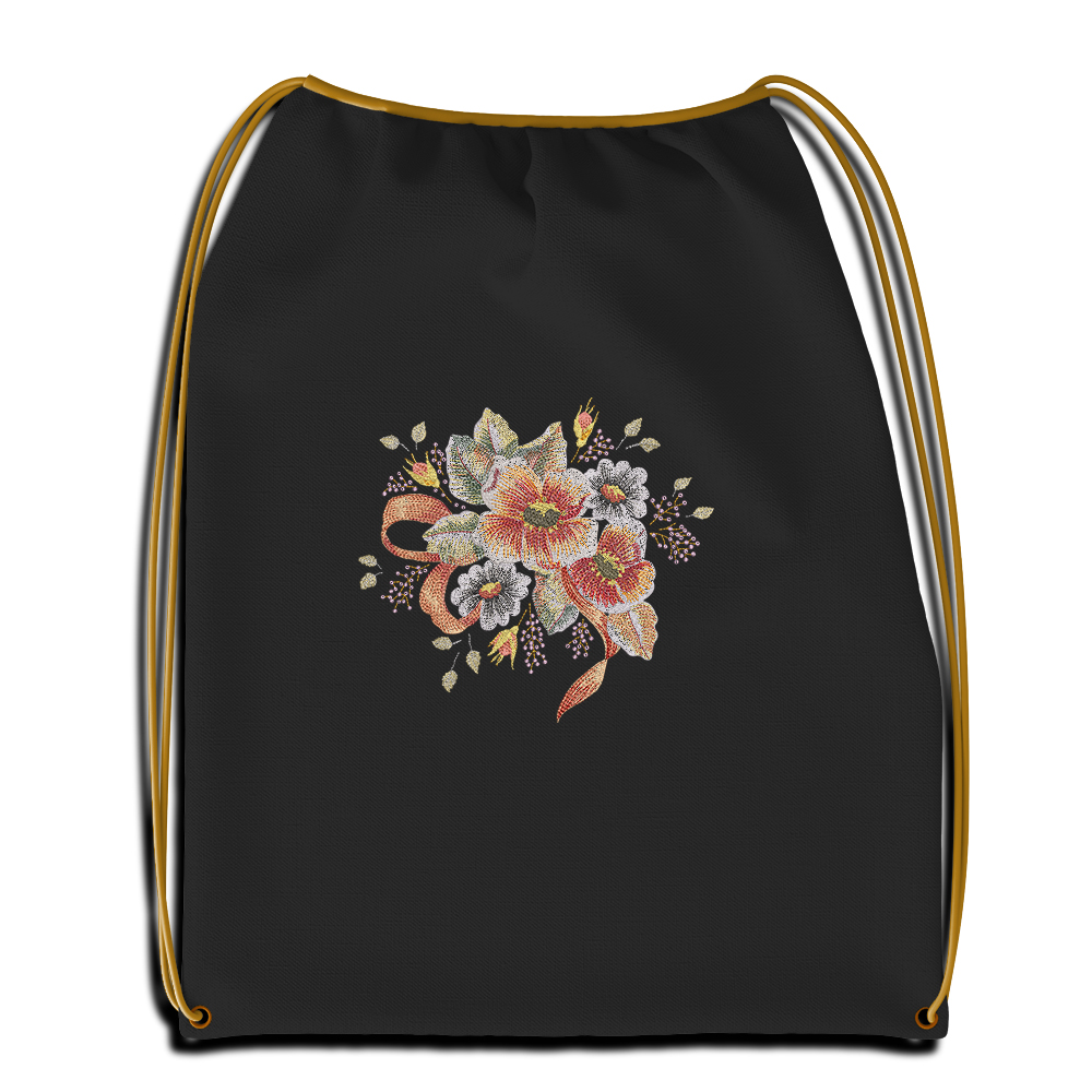 Cre8ieSkill's Embroidery Design Denise Flower Sac Mockup