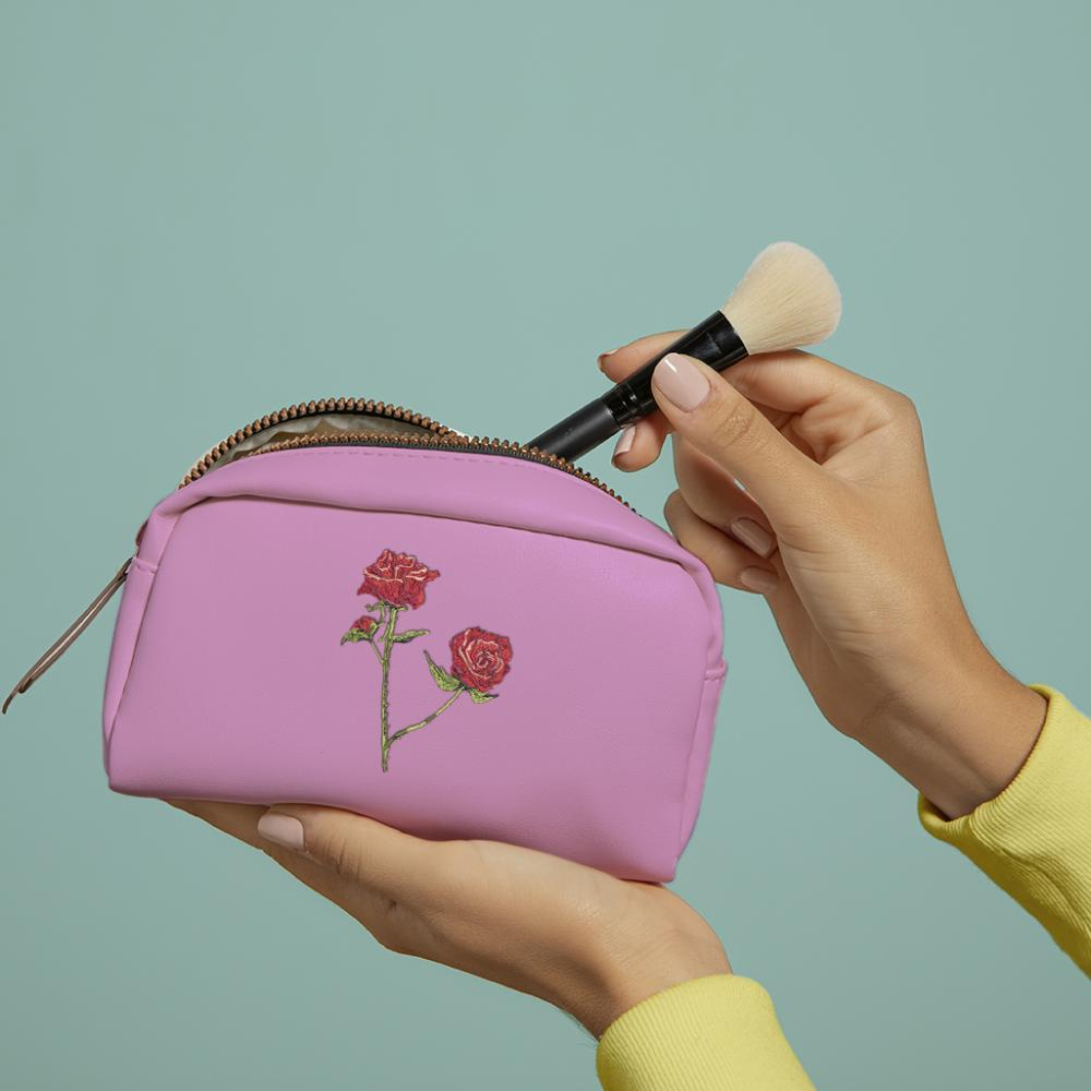 Cre8iveSkill's Embroidery Design Red Roses Bag Mockup