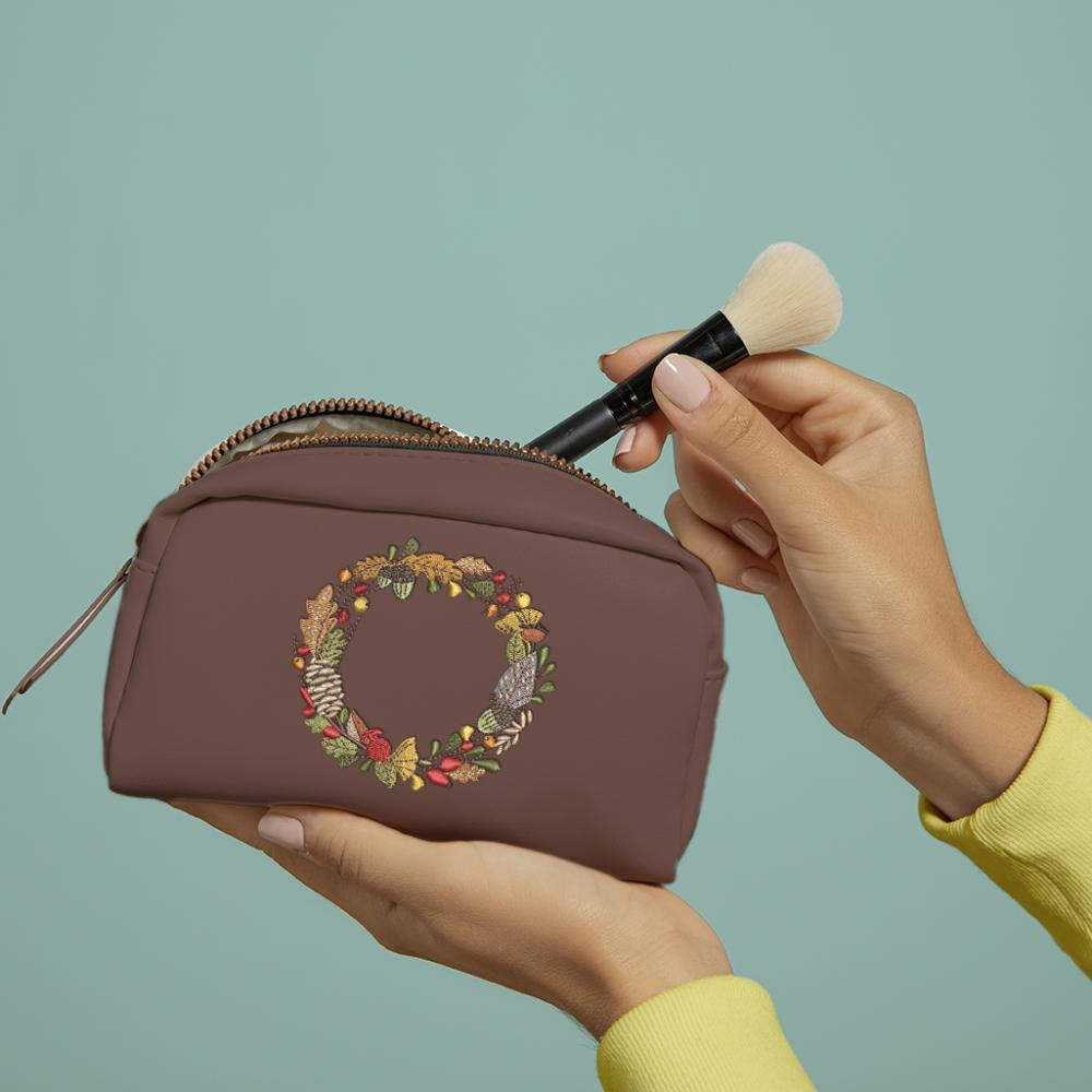 Cre8iveSkill's Embroidery Design Flower Ring Bag Mockup