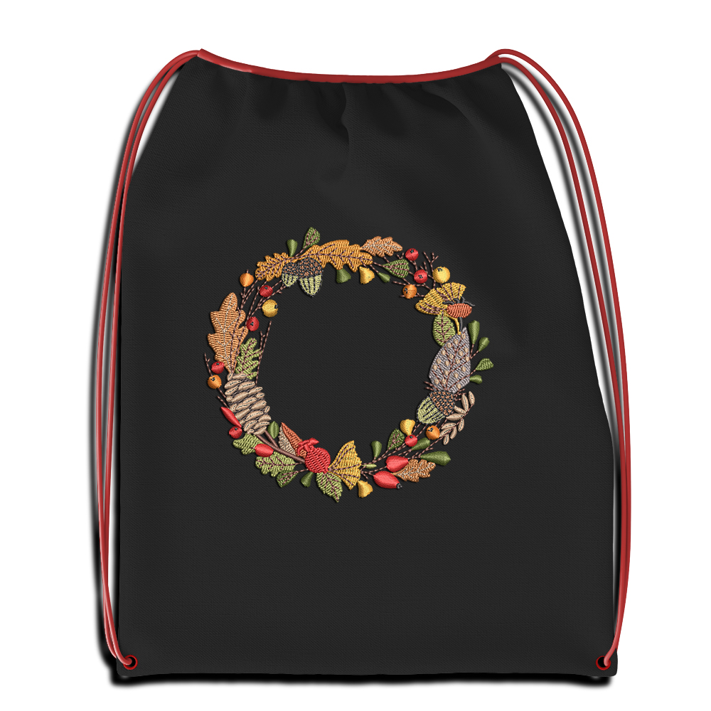 Cre8iveSkill's Embroidery Design Flower Ring Sac Mockup
