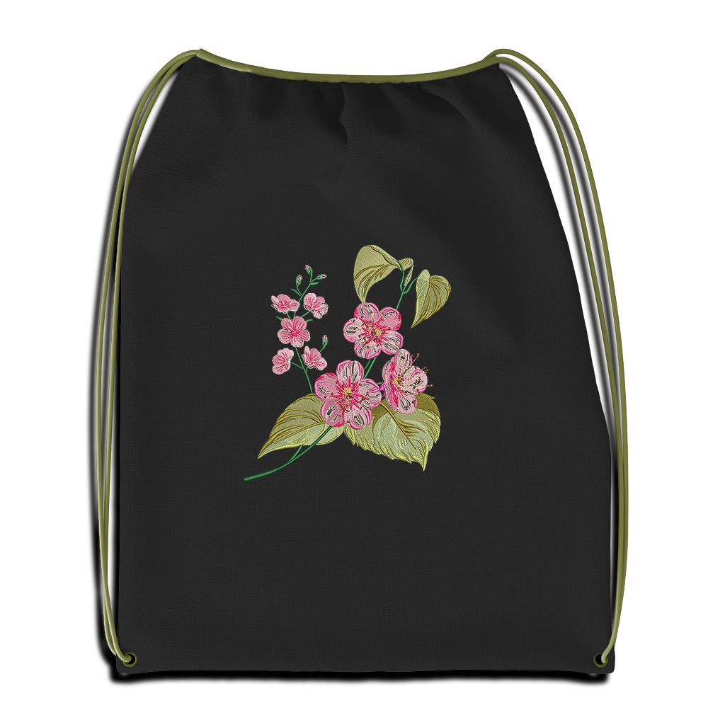 Cre8iveSkill's Embroidery Design Gaura Flower Sac Mockup