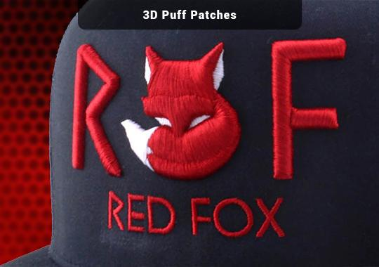 3D Puff Patches
