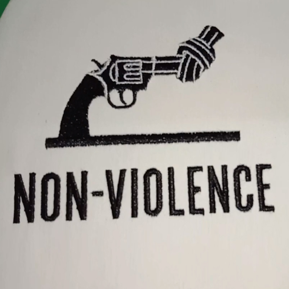 Stop Gun Violence Machine Embroidery Design