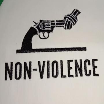 Stop Gun Violence Machine Embroidery Design