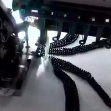 Computerized Bead Attaching machine