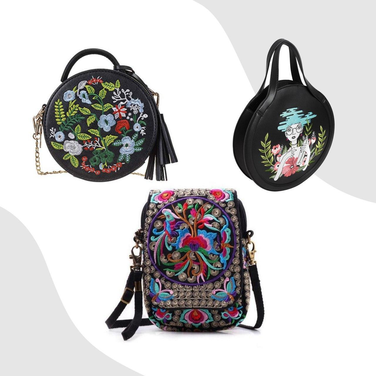 embroidery digitized handbags