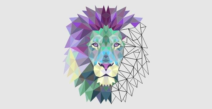 FILL COLORS IN POLYGONAL ART