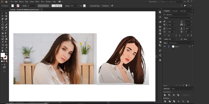 image to vector conversion-Cre8iveSkill