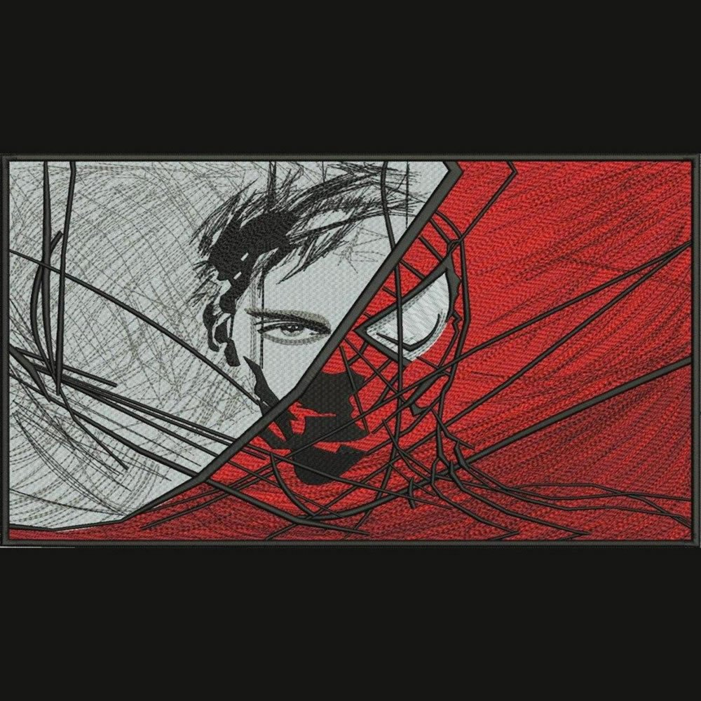 Peter Parker and Spiderman Mashup
